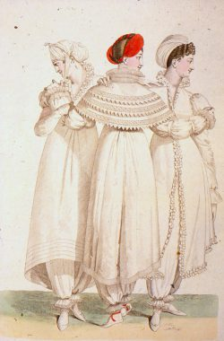 Les Grâces en Pantalon, 1817