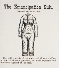Werbung für Reform-Unterwäsche, 1876