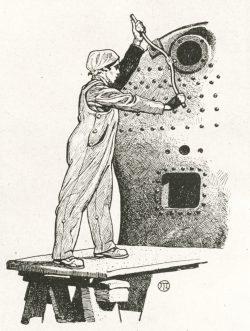 Abb. 152: Schürzenhose für Industriearbeiterinnen, 1917